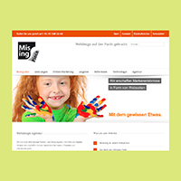 Missingpiece –  Webdesign